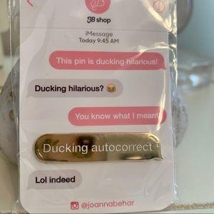 Ducking autocorrect pin